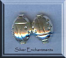Sterling Silver Ladybug Beads