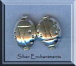 Sterling Silver Ladybug Beads (s)