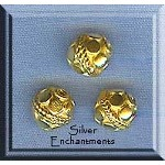 Vermeil Beads, Fancy Ball Beads (2)