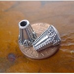 Sterling Jewelry Cones with 6.5mm Opening (2)