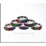 10mm Rondelle Crystal Spacer, Multicolor