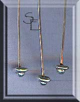 Sterling Silver Saucer and Ball Head Pins (10)