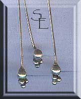 Elegant Ball Cluster Headpins, Sterling Silver (10)