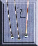 Sterling Silver Headpins with 2mm Ball, 2.5-inch (10)