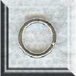 Sterling Silver Closed Jump Ring, 9mm, 16-gauge