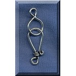 Sterling Silver J-Hook Jewelry Clasp Set