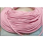 1.5mm Pink Leather Cord, 10-feet