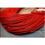 SOLDOUT - 2mm Red Leather Cord, 10-feet