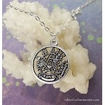 Tetragrammaton Necklace - Everyday Silver Pagan Jewelry