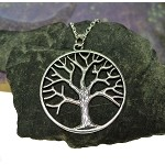 Large Tree of Life Necklace - Everyday Silver Tree of Life Jewelry