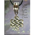 SOLDOUT - Celtic Knot Large Hole Dangle - Fits All European Add a Bead Jewelry
