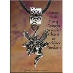 Fairy Large Hole Dangle Charm - Fits All European Add a Bead Jewelry