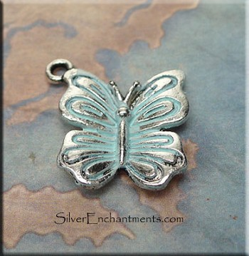 Dimensional Butterfly Charm - Example