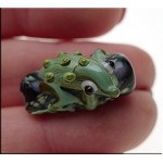 Lampworked Lizard Bead