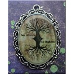 As Above So Below Tree of Life Pendant Necklace, Tree of Life Jewelry
