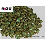 Rizo Beads, Blue Turquoise Picasso
