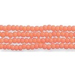 Czech Seed Beads, Opaque Dark Orange, Size 12/0, Hank