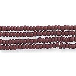 Czech Seed Beads, Opaque Light Brown, Size 12/0, Hank