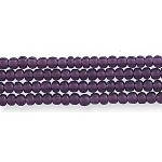Czech Seed Bead Hank, Deep Amethyst Purple, Size 12/0