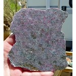 Ruby in Kyanite Slab, Ruby Kyanite Slab, 108x105x6.6mm