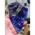 Sodalite Slab, 120x76x6.5mm