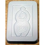 Earth Spiral Goddess Soap Mold, Pagan Soap Molds
