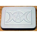 ZSOLDOUT / Triple Moon with Pentacle Soap Mold