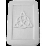 ZSOLDOUT / Triquetra Soap Mold, Celtic Soap Mold