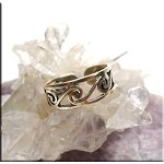 SOLD - Sterling Silver Surround Spiral Toe Ring